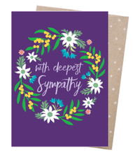 Sympathy Wreath Card