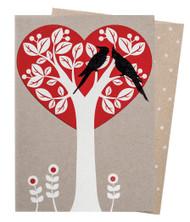 TreeHeart Valentine Card