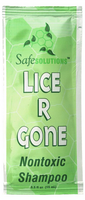 Non-Toxic Lice 'R Gone Single-Use Lice Treatment Shampoo