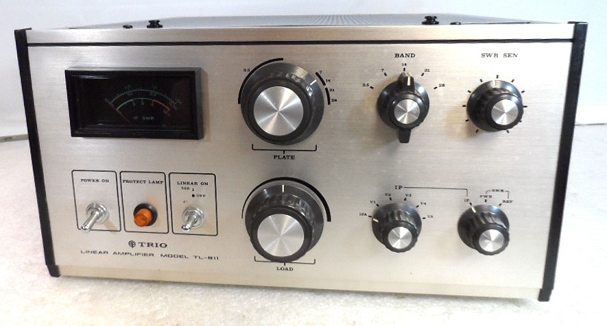Kenwood TL-911 HF Linear Amplifier 10-80 Meters in Excellent Condition