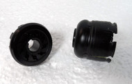 9 Pin Female Octal Plug & Metal Hood with Grommet  for 51S-1 Receivers & Johnson Transmitters