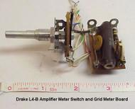 RL Drake L4-B Amplifier Original Meter Switch and Grid Meter Board