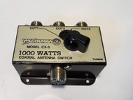 Workman CX-3 Coax Antenna Switch Rated for 1000 Watts Used, in Excellent Condition