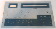 Heathkit Apache TX-1 Front Panel in Excellent Condition with original paint and Emblem