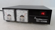 Samlex SEC-1235M 13.8 Volt DC, 30 Amp High Quality Power supply with Meters in Excellent Condition