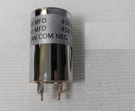 Collins PM-2 KWM-2 /2A Power Supply NEW Chassis mounted Capacitor 40/40 MFD 450V