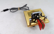Vibroplex Brass Racer Iambic Paddle, with Square Base in New Condition