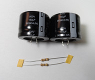 Yaesu FT-101E/FT-102/FT-901/FT-902 High Voltage Filter Capacitor Set