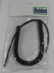 Collins SM-3  Original Belden Coiled Microphone Cable New in Package