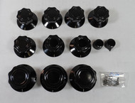 Collins 51J / R388 NEW Original Collins Dakeware Knob set (less Main Tuning Knob)
