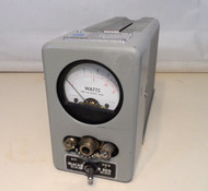 Bird 6154 Thermaline Wattmeter / Load 5/15/50/150 Watt Scale 50 Ohm Load in Excellent Condition