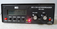 MFJ-464 CW Keyer / Reader in Excellent Cosmetic Condition with power supply