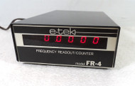 RL Drake FR-4 Digital Frequency Display / Counter From E-tek for Drake Twins R-4, R-4B, R-4C & T-4X, T-4XB, T-4XC Series in Excellent Condition