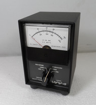 RL Drake WV-4  VHF Watt Meter Late S/N in Like New  Condition with SWR Card and Original Manual S/N 1785