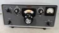 Collins 62S-1 VHF converter 50-54 MHz and 144-148 MHz Modes CW, SSB or AM In Excellent Condition with HV Cable & Gain Knob for rear Panel