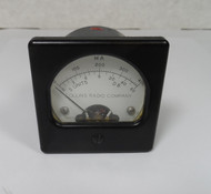 Collins KWM-2 / KWM-2A   S-Meter & Plate Current Meter