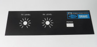 RL Drake P-75 Phone Patch NEW Front Panel
