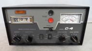 RL Drake C-4 Station Console with AC Switch Box & Remote Coax Switch All in Excellent Condition S/N 031