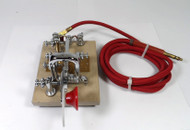 Vibroplex Vibro-Keyer 1960 Serial Number 214866 (First Year Issue) with Original Cloth Cord