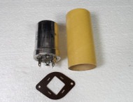 RL Drake R-4C Original High Voltage Chassis Mounted Capacitor (Purchased New from Drake).
