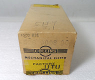 Collins  F-500-B-31, 3.1 KC Filter for the 51J-4  New in Original Box