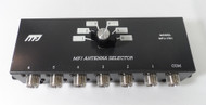 MFJ-1701, 6 Position Coax Switch rated 2000 Watts SSB in Excellent Condition