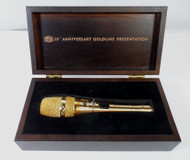 Heil 20th Anniversary Presentation Goldline Studio Microphone NEW in Box S/N 155