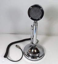 Astatic Silver Eagle  D-104 Amplified Desk microphone with T-UP9 Stand