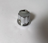 Heathkit  11/16 inch Diameter Small Chrome Control Knob for the Marauder, Apache, & Mohawk