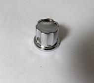 Heathkit  11/16 inch Diameter Small Chrome Control Knob for the Marauder, Apache, & Mohawk