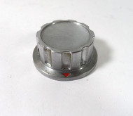 Heathkit  1 3/4 inch Diameter  Pewter Control Knob for the Marauder, Apache, & Mohawk