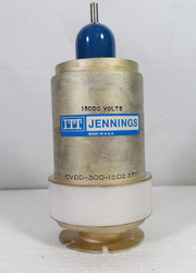 Jennings CVDD-300-15D2370 Vacuum Variable Capacitor 20-500 pF @ 7.5 KV in Excellent Condition