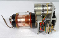 Jennings USL-500-5S  Vacuum Variable Capacitor, 4-500pf,  5kv with 27 VDC Motor & Limiting Switches, Collins P/N 528-0466-00