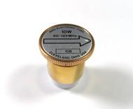 Bird 10B Element (Black & Gold) 50-125 MHz 10 Watt in Excellent Condition