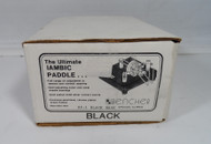 Bencher BY-1  Iambic Paddle (Black Base) New in Unopened Box