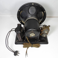 Utah  A-100  1928 - 1930s Speaker with 110 VAC Self Powered Field Magnet Working