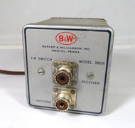 B&W Model 380B  1 KW, T/R Switch for Vintage Transmitters & Receivers