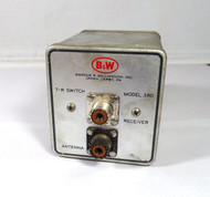 B&W Model 380  1 KW, T/R Switch for Vintage Transmitters & Receivers