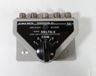 Alpha Delta 4B High Quality 4 position Coax Switch, in Excellent Condition #1