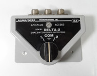 Alpha Delta 2B High Quality 2 position Coax Switch, in Excellent Condition