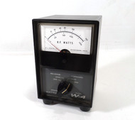 Drake W4 Watt Meter in Excellent Condition with Reproduction SWR Card S/N 9166