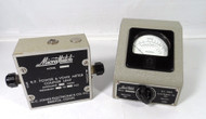 MC Jones Electronics Co  Micromatch Model 253U1 Vintage Power Meter 10 -1000 Watt Scale