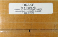 RL Drake R-4 Receiver Tube Kit with NOS Tubes (As sold by K5SVC)