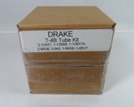 RL Drake T-4B Reciter Tube Kit (less Finals) with NOS Tubes (As sold by K5SVC)