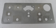 Collins KWM-2A Front Panel (less paint & silk Screen) in Excellent Condition