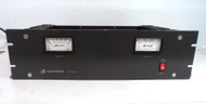 Astron RM-50M 50 Amp Rack Mount Commercial 13.8 VDC Power Supply with Meters in Excellent Condition