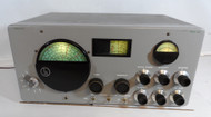 Hallicrafters SX-43 General Coverage Receiver good Condition, Repainted Front Panel