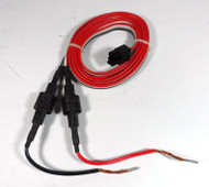 Kenwood 13.8 DC Power Cord for HF Radios with a 6 Pin Molex Type Connector NEW #3