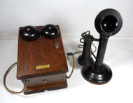 Western Electric Antique 20AL Telephone & 315H Magneto Ringer Box Beautiful Condition!