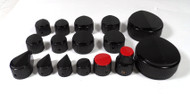 Raytheon Assorted 15 Piece Knob Set for Radios and Test Gear